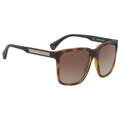 نظارة شمسية بإطار هافانا من ارماني للرجال - EA4047