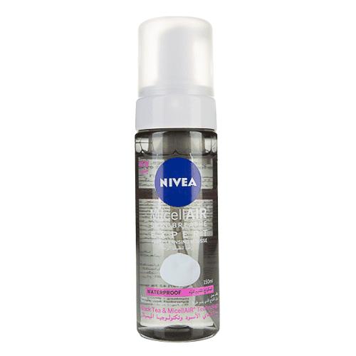 رغوة تنظيف الوجه لإزالة المكياج المقاوم للماء من نيفيا - 150 مل
