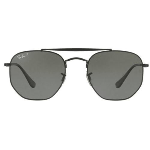 Ray Ban Aviator The Marshal Black Sunglasses Rb3648 N7351