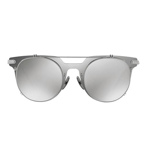 نظارة  شمسية مستديرة عاكسة رمادي من دولتشي اند جابانا - DG2169