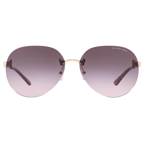 نظارة شمسية سيدني روز جولد من مايكل كورس للنساء- MK1037
