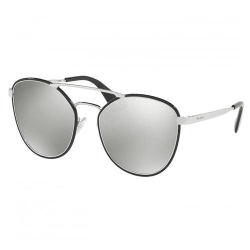 نظارة شمسية  افياتورعاكسة من برادا - 63TS