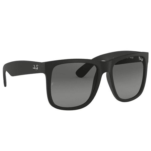 ece731a8021c Ray Ban Justin Matte Black Square Sunglasses For Men - RB4165 | نايس ون