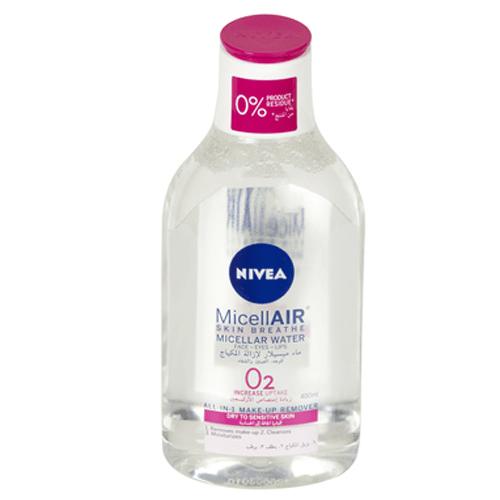 ماء ميسلر لإزالة المكياج ميسلاير للبشرة الحساسة من نيفيا - 400مل