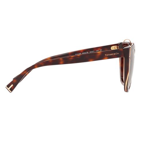 نظارة شمسية بني كات ايز من تيفاني آند كو للنساء - TF4148