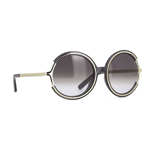 نظارة شمسية جامي أسود من كلوي للنساء - CE708S