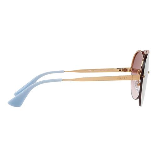 نظارة شمسية عاكسة من برادا للنساء - PR65TS