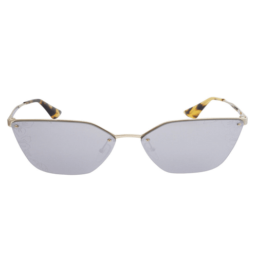 نظارة شمسية كات ايز ذهبي فاتح  من برادا للنساء - PR68US