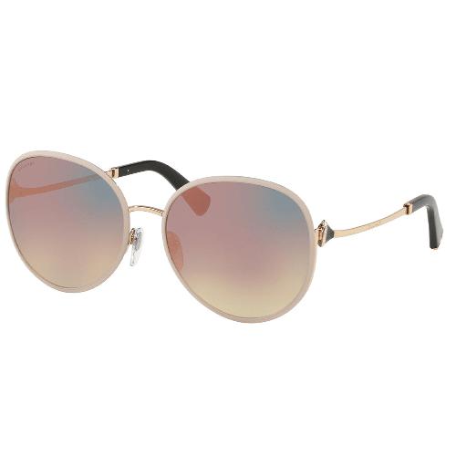 نظارة شمسية كات ايز مات روز من بولغاري للنساء - BV6106B