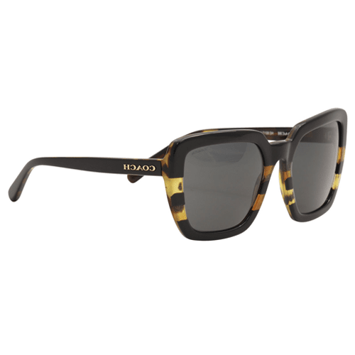74a3b5925 نظارة شمسية مربعة سوداء من كوتش للنساء - HC8217 | نايس ون