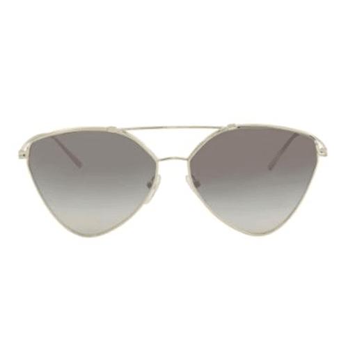 نظارة شمسية  افياتورعاكسة من برادا للنساء - 51US
