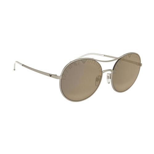 نظارة شمسية ذهبية مستديرة من ارماني للرجال - EA2081
