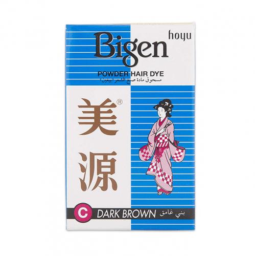 مسحوق صبغ الشعر من بيجين - بني غامق
